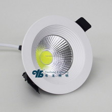 2015 Latest Designed Recessed 7w COB LED Downlight with CE,RoHS
