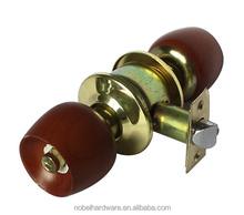 new products zamak high quality cylindrical knob lock
