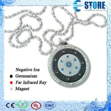 2015 Beautiful Crystal Jewelry Pendant Quantum Energy Steel Pendant