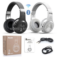 Bluedio H+(Turbine) Bluetooth Stereo Wireless Headphone Built-in Mic Micro-SD/FM Radio BT4.1 Over-ear Headphones