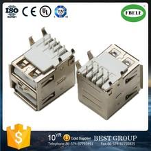 FBUSBA2-115F usb c type connector usb flash drive connector dual usb connector(FBELE)