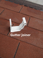7 Inch PVC Gutter Joiner/ Factory price