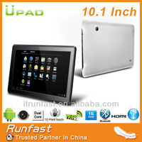 CG1005 Android Dual Core Tablet PC 10.1 inch Android4.2 RAM 1G/ ROM 8G Wifi Bluetooth Dual Camera Tablets Factory in Shenzhen