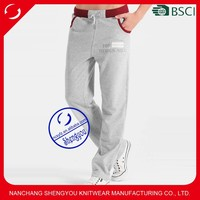 Custom wholesale mens french terry jogger track pants in bulk