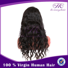 Top selling productsfull lace virgin mono silk top human hair wigs