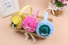 Factory wholesale warm faux fur earmuffs with cheap price