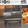 SK free shipping Small scale Electric Heating chicken steak Frying Machine