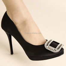 2015 bridal wedding women shoe with rhinestones D90571