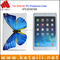 For iPad Air Stylish Plastic IMD Tablet Protective Cover Passed ROHS REACH