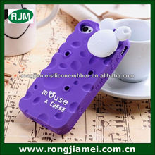 Multifunctional purple silicone cell phone case with fragrance chese