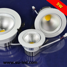 CRI>80Ra 90-100lm/W 10W 12W epistar LED downlight manufacturer supply