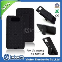 Factory price cell phone cover belt clip shell holster case for motorola droid ultra maxx