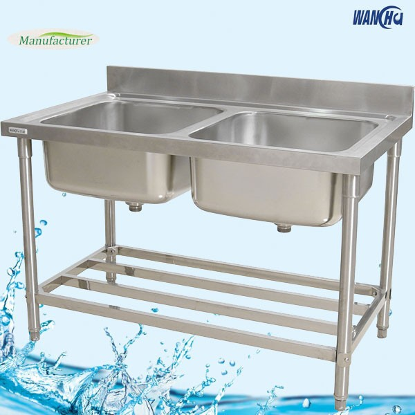 Merveilleux Malaysia Double Bowls Kitchen Sink Bench/stainless Steel Kitchen ...