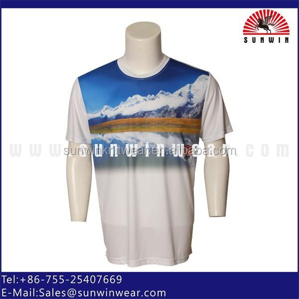 Oem dye sublimation shirts sublimation t shirt printing sw for Dye sublimation t shirt printer