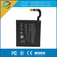 Best selling lithium ion rechargeable built-in battery BL-4YW For Nokia Lumia 925 925T