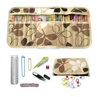 Crochet Hook Kit 12 pcs US Size needles with accessories and canvas bag