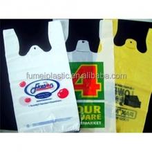 New style most popular LDPE virgin biodegradable T-shirt plastic bag
