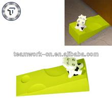 Funny calf rubber decorative door draft stopper