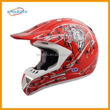 Shell injected ABS material wholesale dirt bike cheap kids dirt bike helmet