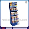 TSD-C399 Custom retail shop floor standing cardboard toy display rack,pop gift display,doll display stand