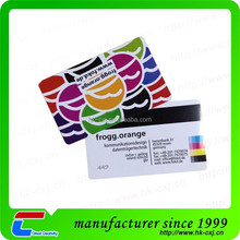 factory made pvc magnetic card printing of low cost