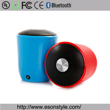cup shape e cheapest portable mini speaker power bank with bluetooth speaker