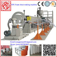 Hot sale pe sheet foaming machne from China/epe sheet extrusion production line FC-170