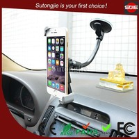 2015 New Product Flexible Long Neck Windshield Car Phone Holder,Suction Cup Car Accessory