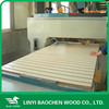 1220mm*2440mm*18mm melamine slotted MDF board for cabinet from MDF board manufacture