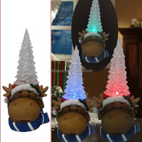 Outdoor garden led light polyresin reindeeer Christmas decoration