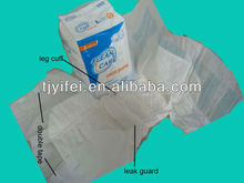 cloth disposable color adult diapers with non-woven pulp wetness indicator