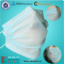 Ear loop mouth cover mask