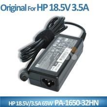 Original 7.4*5.0mm laptop 65w 18.5v 3.5a power adapter 110-240v ac for HP