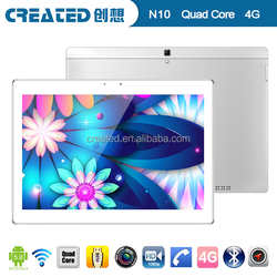 LTE 4G android tablet pc 10 inch 64SOC IPS screen laptops