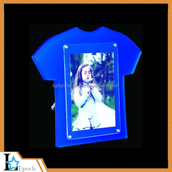 2015 manufacturing acrylic photo frames/plexiglass photo frames/acrylic photo frame with screw