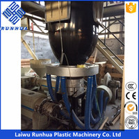 plastic co-extrusion heat flow tech mulch film blowing machine