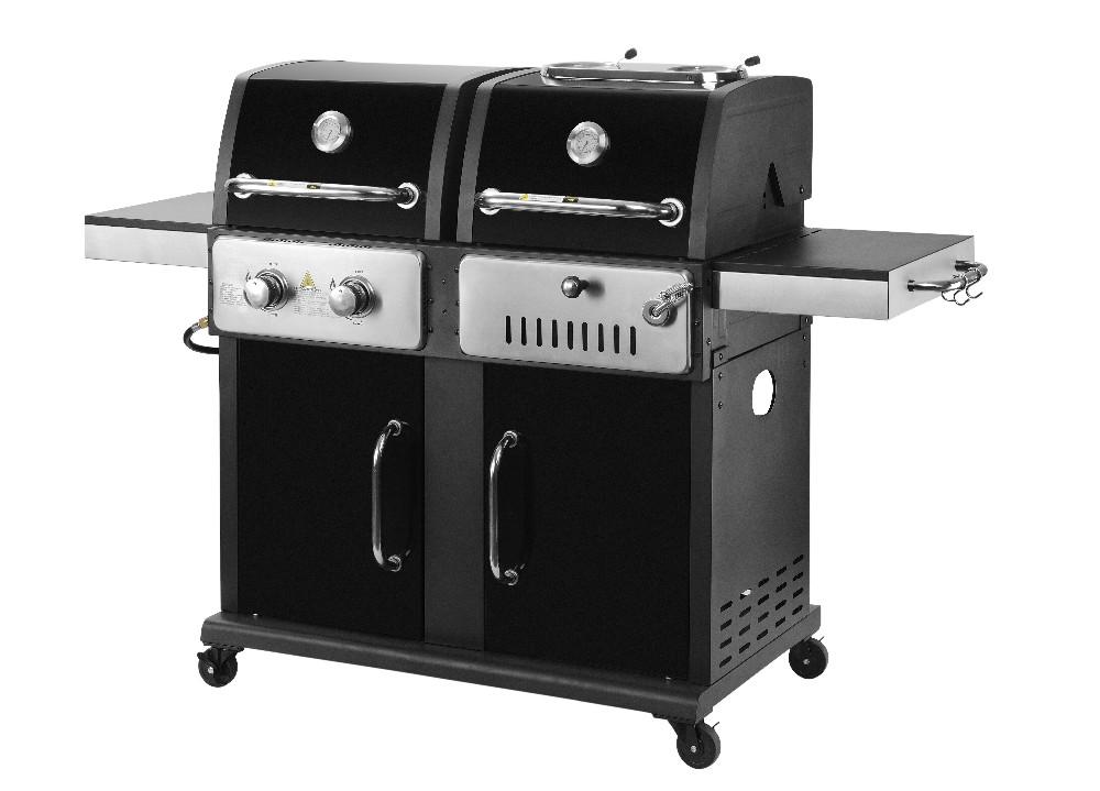 4 br leur double couvercle gaz barbecue grill barbecue avec ce etl csa grille de barbecue id de. Black Bedroom Furniture Sets. Home Design Ideas