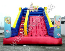 Outdoor inflatabe water slide, spongebob inflatable water slide B4130