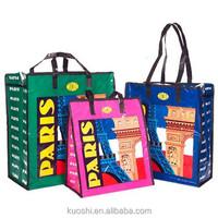 Free sample Eco-friendly pp woven shopping bag