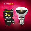 factory wholesale r63 4w e26 e27 no glare led bulb filament mirror