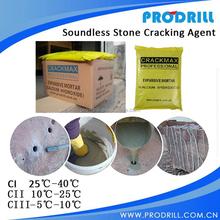 Non-explosive Demolition Agents for Sandstone