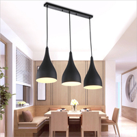 Jeveya Metal Ball Pentant Lamp 1/2/3 Heads LED Pendant Lights