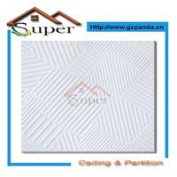60x60 Vinyl Coated Gypsum Board Ceiling Tiles