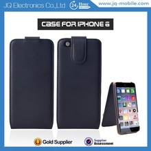 Top quality leather flip cover case For Smartphone Apple iPhone 6 China Manufacturer