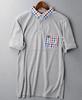 2015 new fashion collar pocket men t-shirt custom polo shirt design for men wholesale