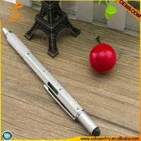 5 in 1 gradienter touch pen,multifunction tech tool pen construction pen