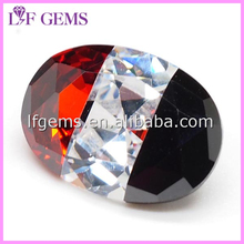 New Products Oval Loose Stone Cubic Zircon