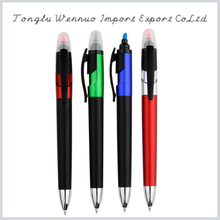 Custom slogan printing highlighter pen combo