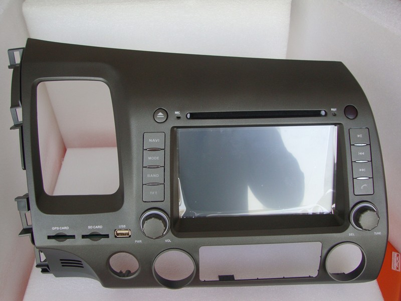 GPS-навигатор Android 4.4.2 DVD/honda civic GPS + IPOD + BT + ATV + + AUX +