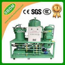 SBDM KXZ Tecnología de sistema de separación de múltiples etapas Planta de reciclaje de aceite usado de motor